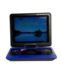 9.5 INCH PORTABLE WITH USB DVD PLAYER